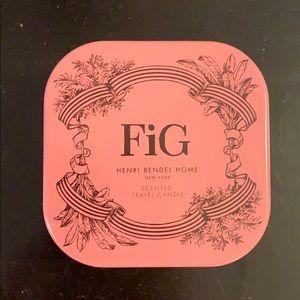 Fig henri bendel scented travel candle